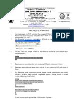 SOAL UTS UJIAN TENGAH SEMESTER TKJ WEBDATABASE Web Database