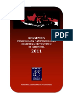 Konsensus DM Tipe 2 Indonesia 2011
