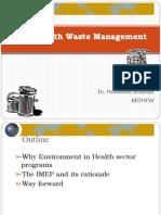 Health Waste Management