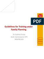 Family Planning in India