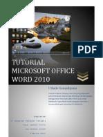 Tugas Komputer Tutorial Microsoft Office Word 2010 Book Edition