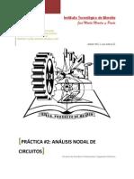 Práctica 2. Análisis Nodal de Circuitos