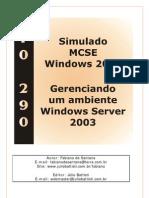 Julio Batisti 70-290 Simulado BR