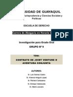 Investigacion Joint Venture en Ecuador
