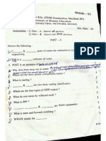 BSC (ITIM )  Examination  question paper 2011