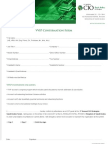 CIO VVIP Form & Questionnaire 2011