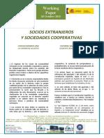 SOCIOS EXTRANJEROS Y SOCIEDADES COOPERATIVAS - FOREIGN MEMBERS AND COOPERATIVE SOCIETIES (spanish) - ATZERRIKO BAZKIDEAK ETA SOZIETATE KOOPERATIBOAK (espainieraz)