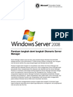 Paduan Penggunaan Server Manager Di Windows Server 2008