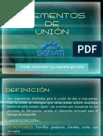 ELEMENTOS DE UNIÓN-mantenimiento 2