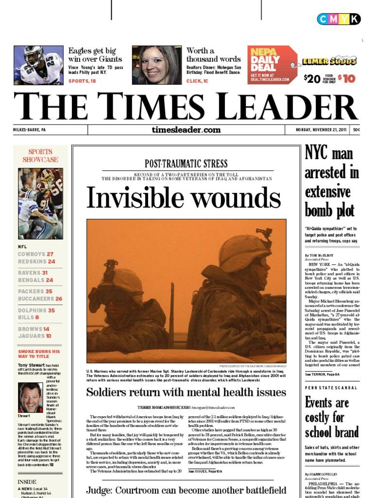 0b10093f3783a9 Times Leader 11-21-2011 | Muammar Gaddafi | Egypt