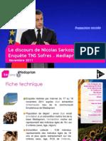 Le discours de Nicolas Sarkozy à Bordeaux
