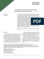A contribuição dos alimentos fortificados na prevenção da anemia ferropriva