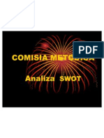 Comisia Metodoca Analiza Swot