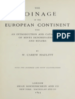 The coinage of the European continent