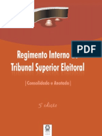 Regimento Interno Do Tse