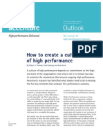 V-Accenture - How to Create a Culture of High Performance