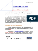 Mol - Concepto y Ejercicios