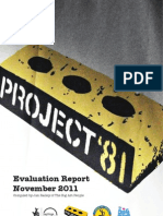Project '81 Evaluation Report