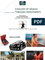 The Psychology of Wealth Creation Through Investments
