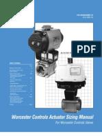 Flowserve Actuator Sizing