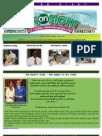 Newsletter - Eye on Sight - Oct 2011