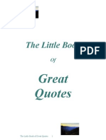 The Little Book of Great Quotes