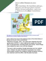 European Union or Rather Disunion in 2021