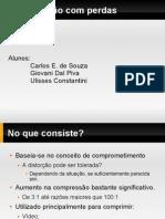 Compressao Com Perdas - Modulacao Delta e DPCM