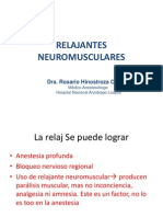 Relajantes  neuromusculares NUEVO