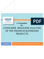 26240703 Study of Consumer Behavior of Sanitary Ware Appliances Final Presentation