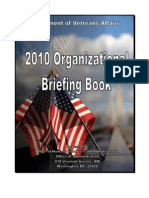 VA Org Briefing Book