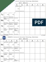 Fa11 Timetable Final