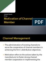 Motivation of Channel Member