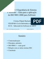 ISO 9000-3 - Engenharia de Sistema e Software