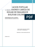 Eduacion Popular en Colombia