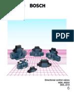 Directional Control Valves Ng6 Ng32 Do3 d10