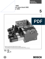 Directional Control Valve Block Sbe 2 0