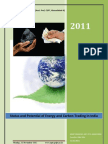 Status and Potential of Energy and Carbon Trading in India