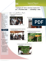 Agriculture Round Table Report Oct 2011 - The Food & Nutrition Circle - Connecting the Dots