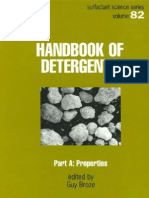 Handbook of Detergents, Part a - Properties