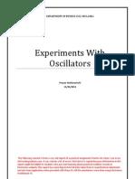 Experiments With Oscillators