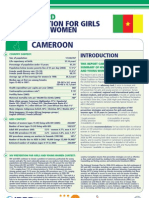 Hiv Prevention Girls and Young Women Cameroon Report Card