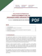 Documento de referencia Organizaciones Agrarias familiares