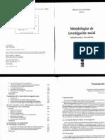 Canales M. 2006 Metodologias de La Investigacion Social. Introduccion a Los Oficios Pp. 11-28