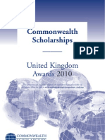 Scholarships Prospectus 2010