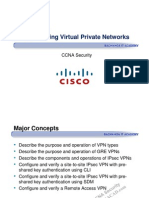 CCNA Security Chapter 8 VPN