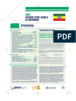 Hiv Prevention Girls and Young Women Ethiopia Report Card