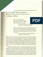 Sondheim Casebook Essay