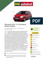 Renault Clio 1 2 Campus Authentique