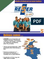 Presentación CRESER 2008